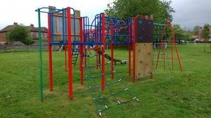 Multi-play play equipment at The Limes